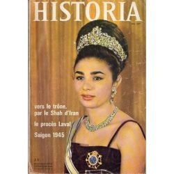 Historia n° 227 - Vers le trône, par le Shah d'Iran