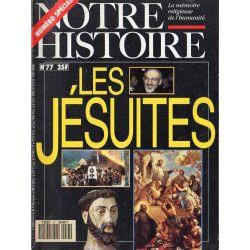 Notre Histoire n° 77 - Les Jésuites