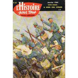 L'histoire pour tous n° 45 - La Guerre civile d'espagne