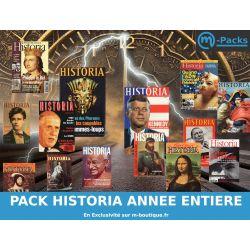 Historia Magazine - 12 numéros de janvier à décembre - Année complète