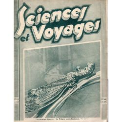 Sciences et Voyages n° 589 - 11 décembre 1930 - Un étrange insecte : le Fulgor porte-lanterne