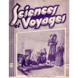 Sciences et Voyages n° 591 - 25 décembre 1930 - Femmes turkmènes fabricant du feutre