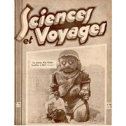 Sciences et Voyages n° 597 - 5 février 1931 - La statue d'un Génie familier à Bali