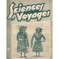 Sciences et Voyages n° 601 - 5 mars 1931 - Danses de Java