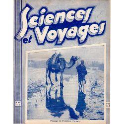 Sciences et Voyages n° 605 - 2 avril 1931 - Paysages de Palestine
