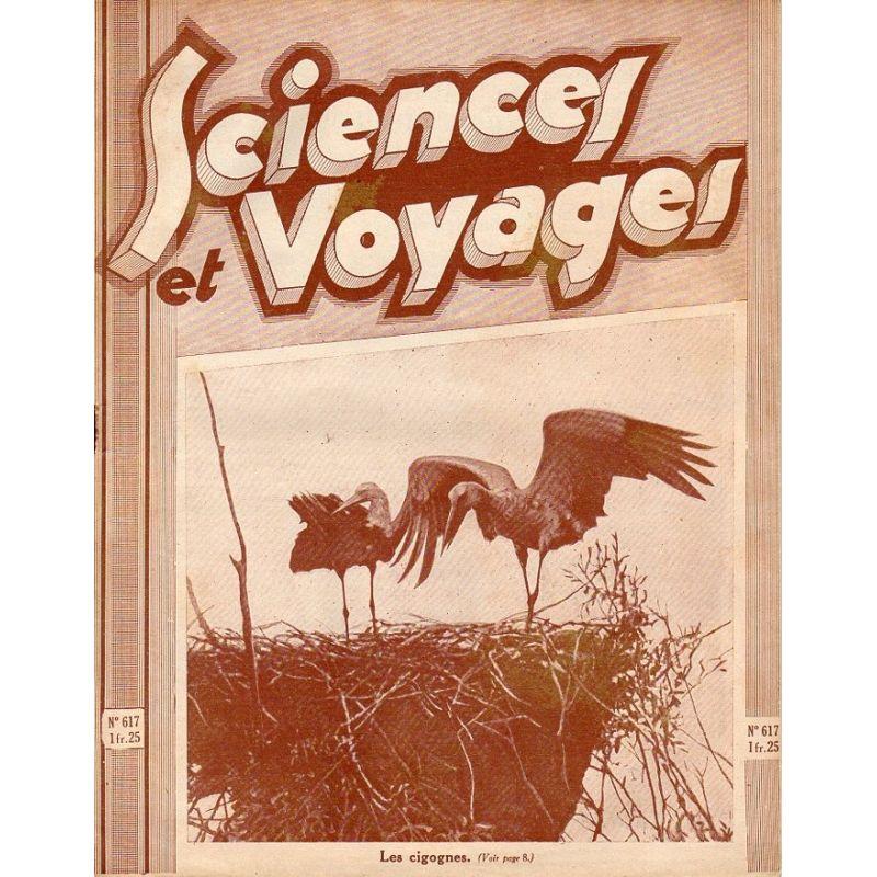 Sciences et Voyages n° 617 - 25 juin 1931 - Les cigognes
