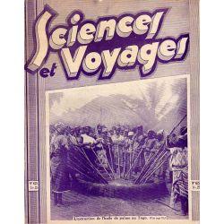Sciences et Voyages n° 625 - 20 août 1931 - L'extraction de l'huile de palme au Togo