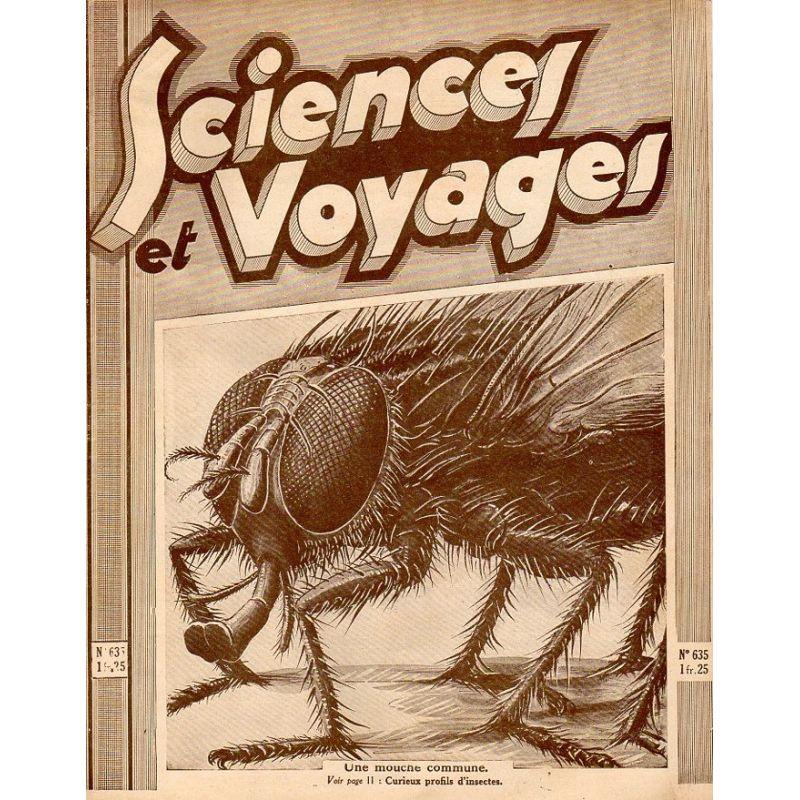 Sciences et Voyages n° 635 - 29 octobre 1931 - Une mouche commune