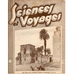Sciences et Voyages n° 639 - 26 novembre 1931 - Les ruines d'un ermitage dominant Guatemala