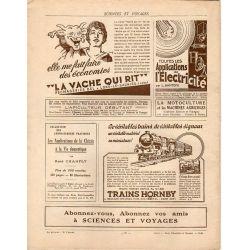 Sciences et Voyages n° 639 - 26 novembre 1931 - Les ruines d'un ermitage dominant Guatémala