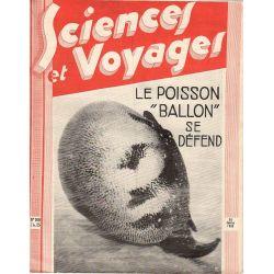 """Sciences et Voyages n° 700 - 26 janvier 1933 - Le poisson """"Ballon"""" se défend"""