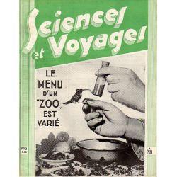 """Sciences et Voyages n° 702 - 9 février 1933 - Le menu d'un """"Zoo"""" est varié"""