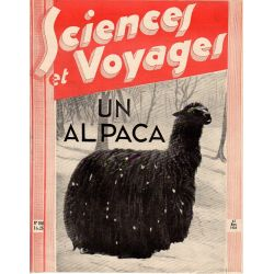 Sciences et Voyages n° 708 - 23 mars 1933 - Un Alpaca