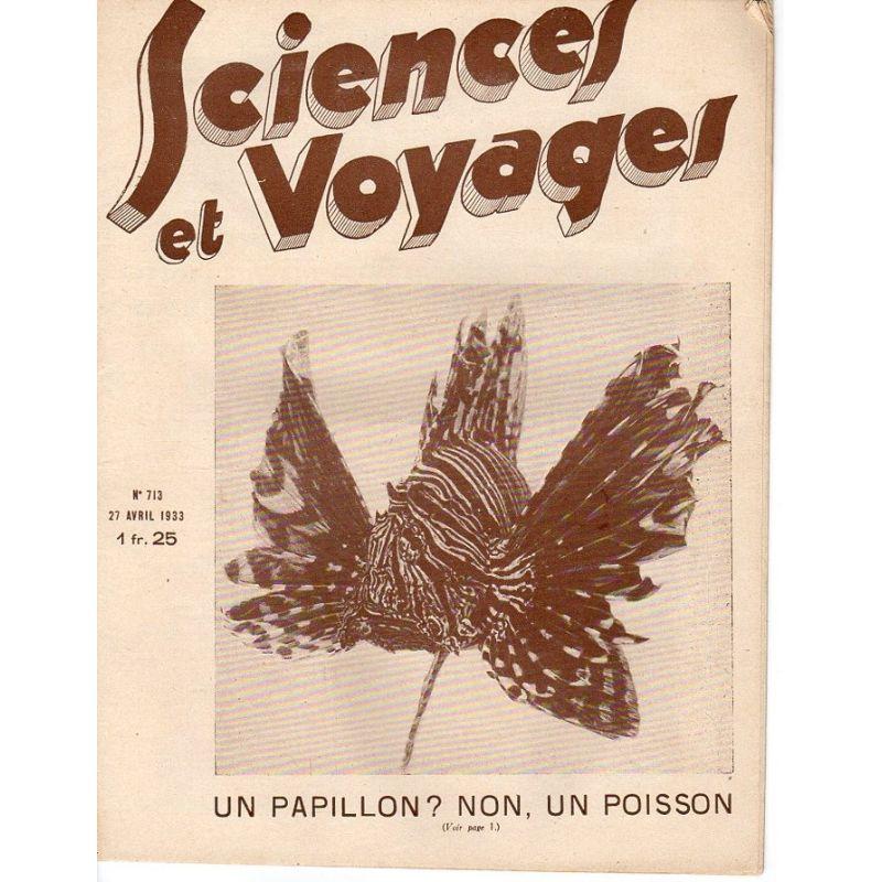 Sciences et Voyages n° 713 - 27 avril 1933 - Un papillon ? non, un poisson