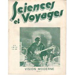 Sciences et Voyages n° 714 - 4 mai 1933 - Vision moderne
