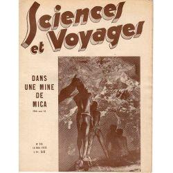 Sciences et Voyages n° 716 - 18 mai 1933 - dans une mine de Mica