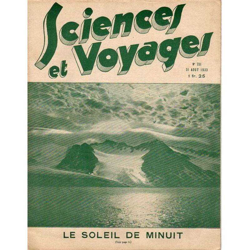 Sciences et Voyages n° 731 - 31 août 1933 - Le soleil de minuit