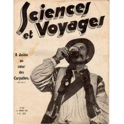 Sciences et Voyages n° 750 - 11 janvier 1934 - A Jasina au coeur des Carpathes