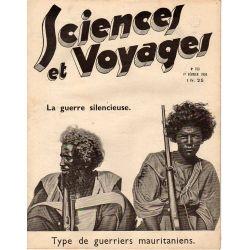 Sciences et Voyages n° 753 - 1 février 1934 - Type de guerriers mauritaniens