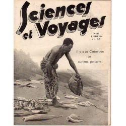 Sciences et Voyages n° 754 - 8 février 1934 - Il y a au Cameroun de curieux poissons