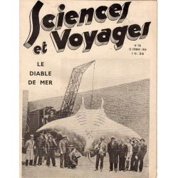 Sciences et Voyages n° 756 - 22 février 1934 - Le Diable de mer