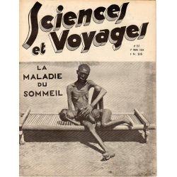 Sciences et Voyages n° 757 - 1 mars 1934 - La maladie du sommeil