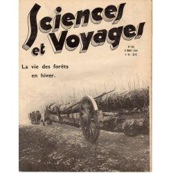 Sciences et Voyages n° 758 - 8 mars 1934 - La vie des forêts en hiver