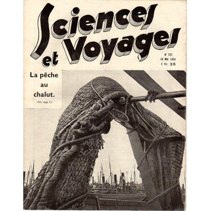 Sciences et Voyages n° 767 - 10 mai 1934 - La pêche au chalut