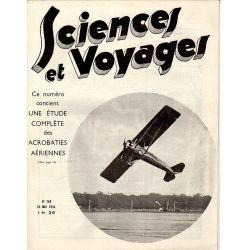 Sciences et Voyages n° 769 - 24 mai 1934 - Étude complète des Acrobaties Aériennes