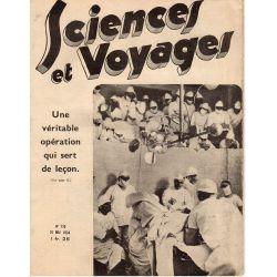 Sciences et Voyages n° 770 - 31 mai 1934 - Une véritable opération qui sert de leçon
