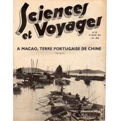 Sciences et Voyages n° 777 - 19 juillet 1934 - A Macao, terre portugaise de Chine