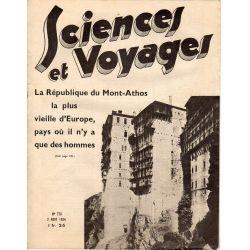 Sciences et Voyages n° 779 - 2 août 1934 - La République du Mont-Athos