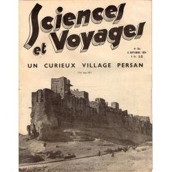 Sciences et Voyages n° 784 - 6 septembre 1934 - Un curieux village Persan