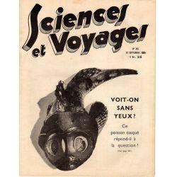 Sciences et Voyages n° 785 - 13 septembre 1934 - Voit-on sans yeux ?