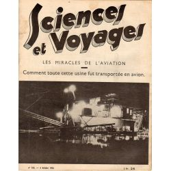 Sciences et Voyages n° 788 - 4 octobre 1934 - Les miracles de l'aviation