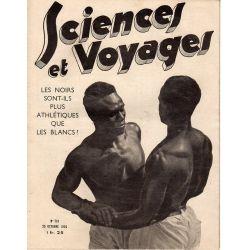 Sciences et Voyages n° 791 - 25 octobre 1934 - Les noirs sont-ils plus athlétiques que les blancs ?