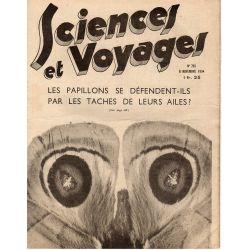 Sciences et Voyages n° 793 - 8 novembre 1934 - Les papillons se défendent-ils par les taches de leurs ailes ?