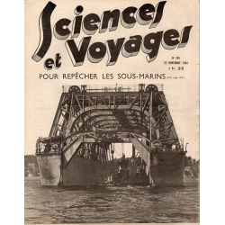 Sciences et Voyages n° 795 - 22 novembre 1934 - Pour repêcher les sous-marins