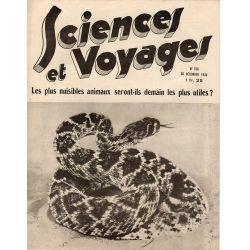 Sciences et Voyages n° 799 - 20 décembre 1934 - Les plus nuisibles animaux seront-ils demain plus utiles ?