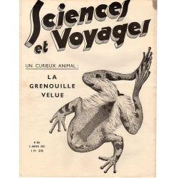 Sciences et Voyages n° 801 - 3 janvier 1935 - Un curieux animal : La grenouille velue