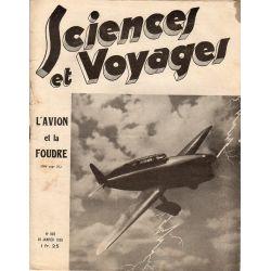 Sciences et Voyages n° 802 - 10 janvier 1935 - L'avion et la foudre