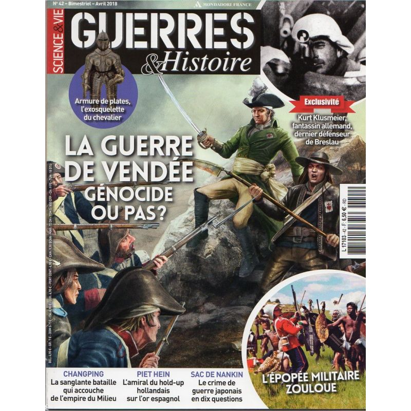 Guerres & Histoire n° 42 - La Guerre de Vendée, Génocide ou pas ?