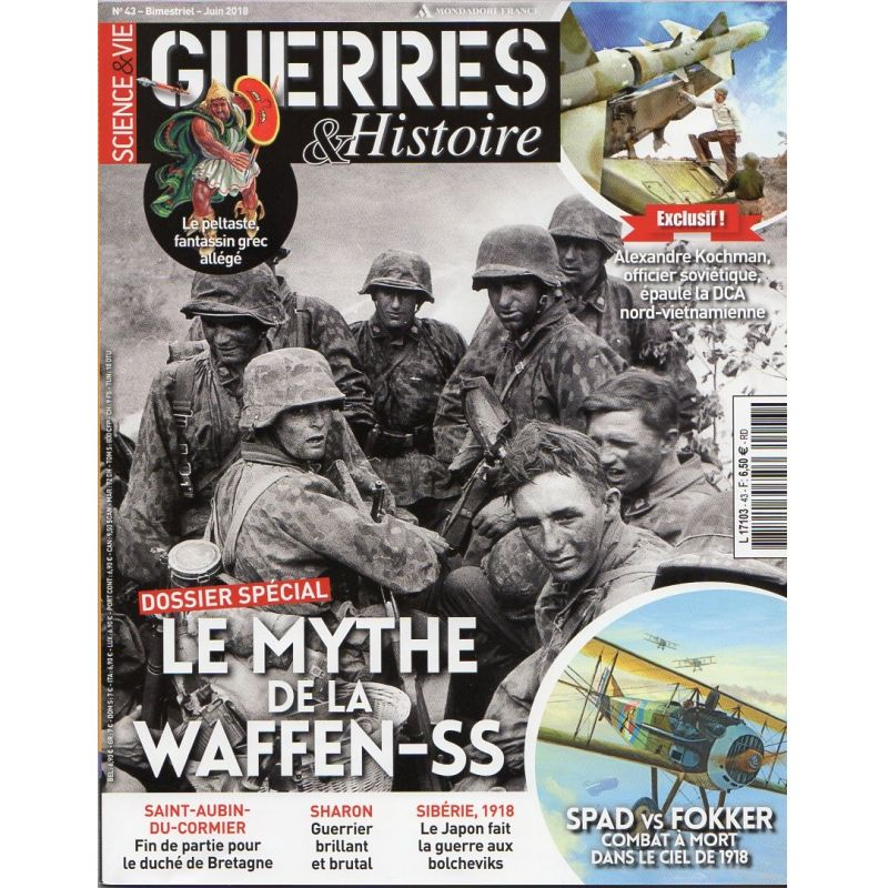 Guerres & Histoire n° 43 - Le Mythe de la WAFFEN-SS - Juin 2018
