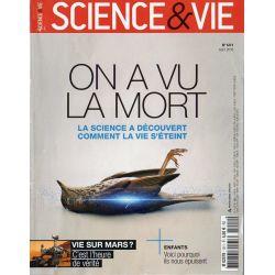 Science & Vie n° 1211 - On a vu la mort, la science a découvert comment la vie s'éteint
