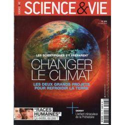 Science & Vie n° 1213 - Changer le climat, les deux grands projets pour refroidir la Terre