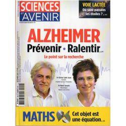 Sciences et Avenir n° 859 - Alzheimer, prévenir, ralentir, le point sur la recherche