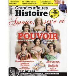Les Grandes Affaires de l'Histoire n° 11 - Amour, Sexe et pouvoir