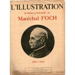 L'Illustration n° 4492 - 6 avril 1929 - Numéro consacré au Maréchal FOCH