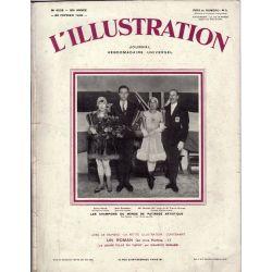L'Illustration n° 4538 - 22 février 1930 - Les champions du Monde de patinage artistique