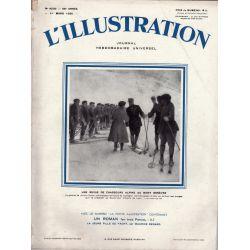 L'Illustration n° 4539 - 1er mars 1930 - Une revue des Chasseurs Alpins au Mont Genèvre